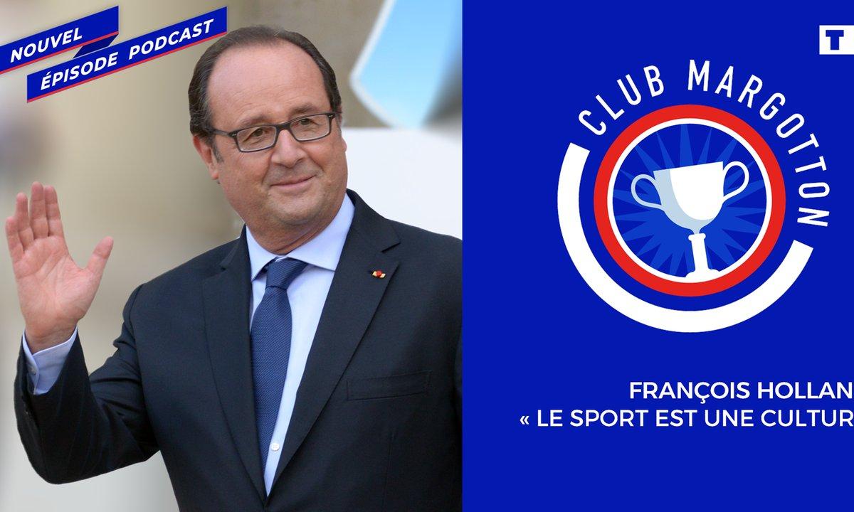"""Club Margotton - François Hollande: """"Le sport est une culture"""""""