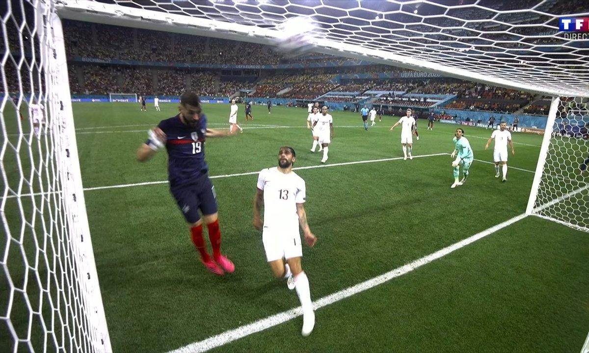 France - Suisse (2 - 1) : Voir le deuxième but de Benzema en vidéo