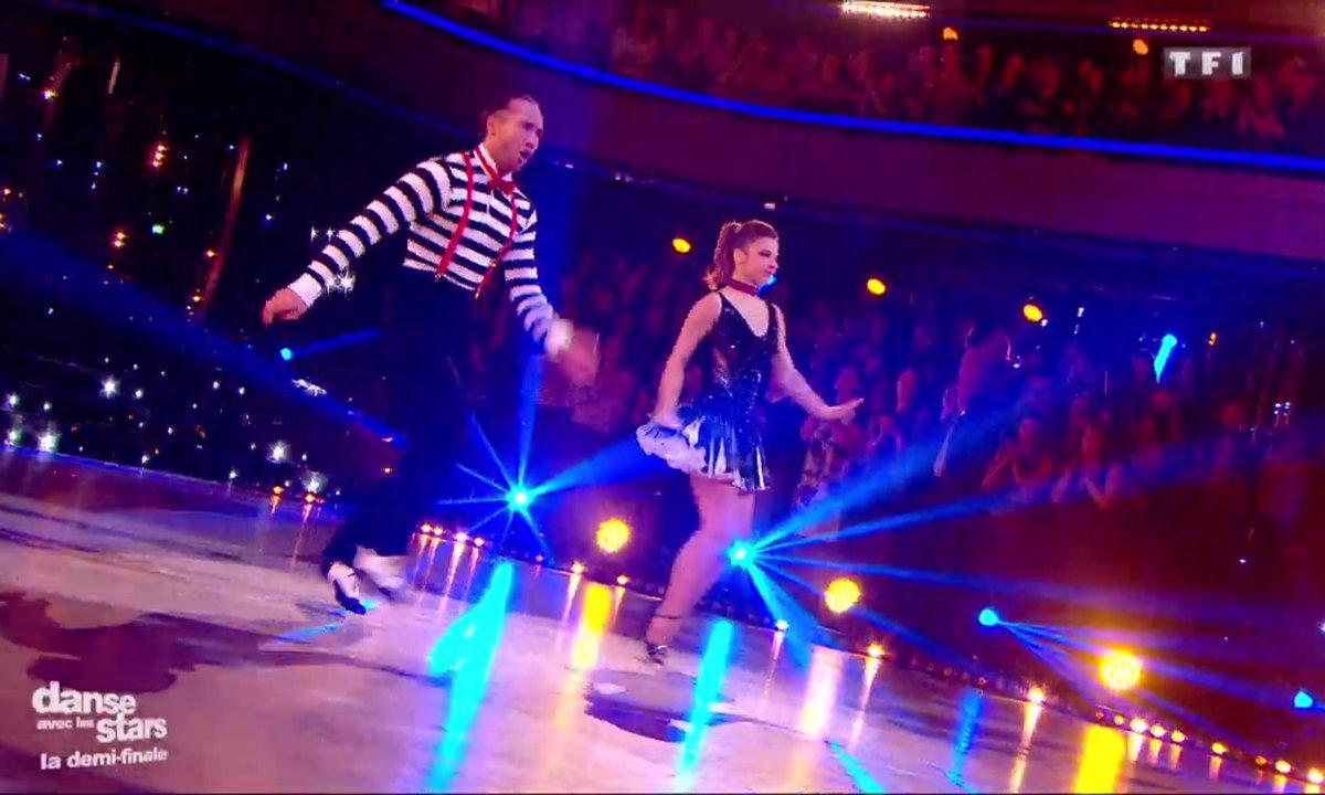 Laurent Maistret et  Denitsa Ikonomova, un quickstep pour leur 2è danse sur « Sing Sing Sing »