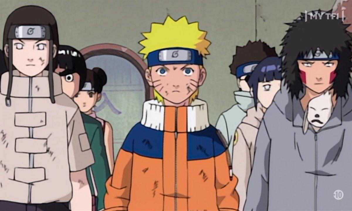 Naruto - Episode 37 - Le succés des neuf genin
