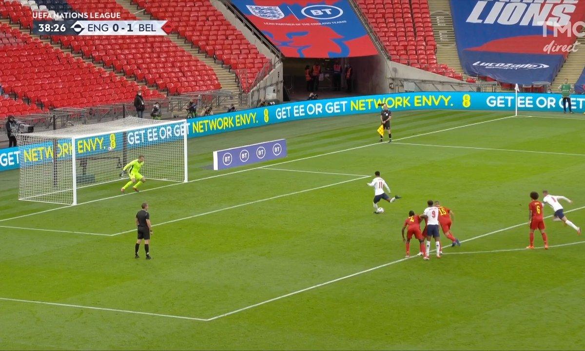 Angleterre - Belgique (1 - 1) : Voir le but de Rashford en vidéo