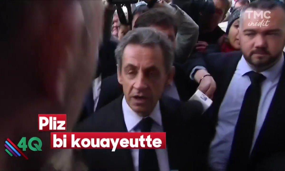 """Les 4 Q - """"Do you speak english ? Sarkozy english ?"""""""