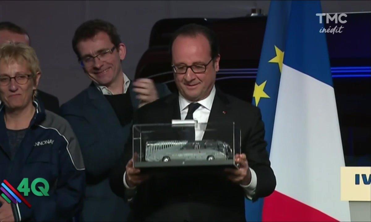 Les 4 Q - François Hollande part à la retraite