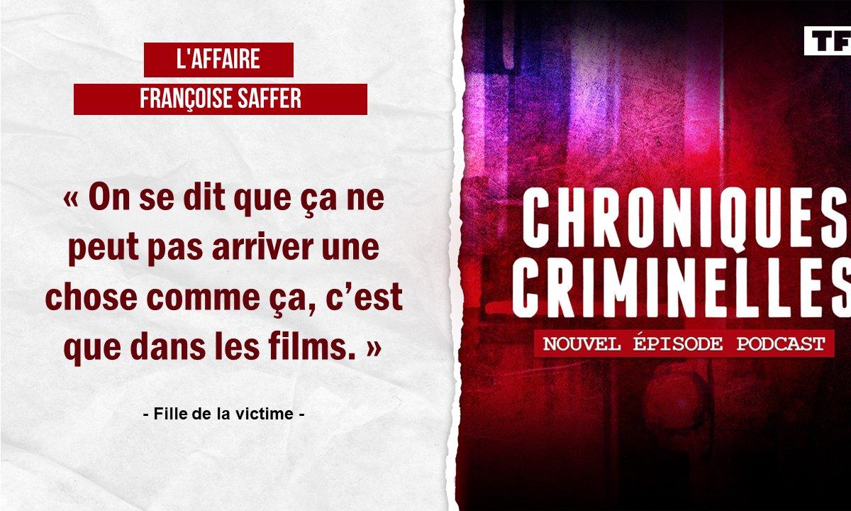 [Intégrale] Chroniques criminelles : l'affaire Françoise Saffer, les secrets du chauffeur routier