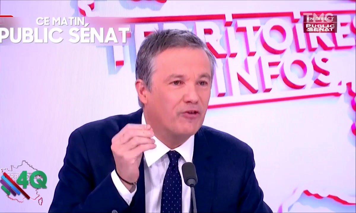 Les 4Q - Dupont-Aignan, roi de la punchline