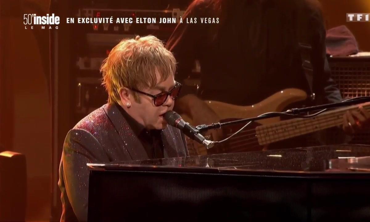Quand Christophe Beaugrand part à la rencontre d'Elton John à Las Vegas