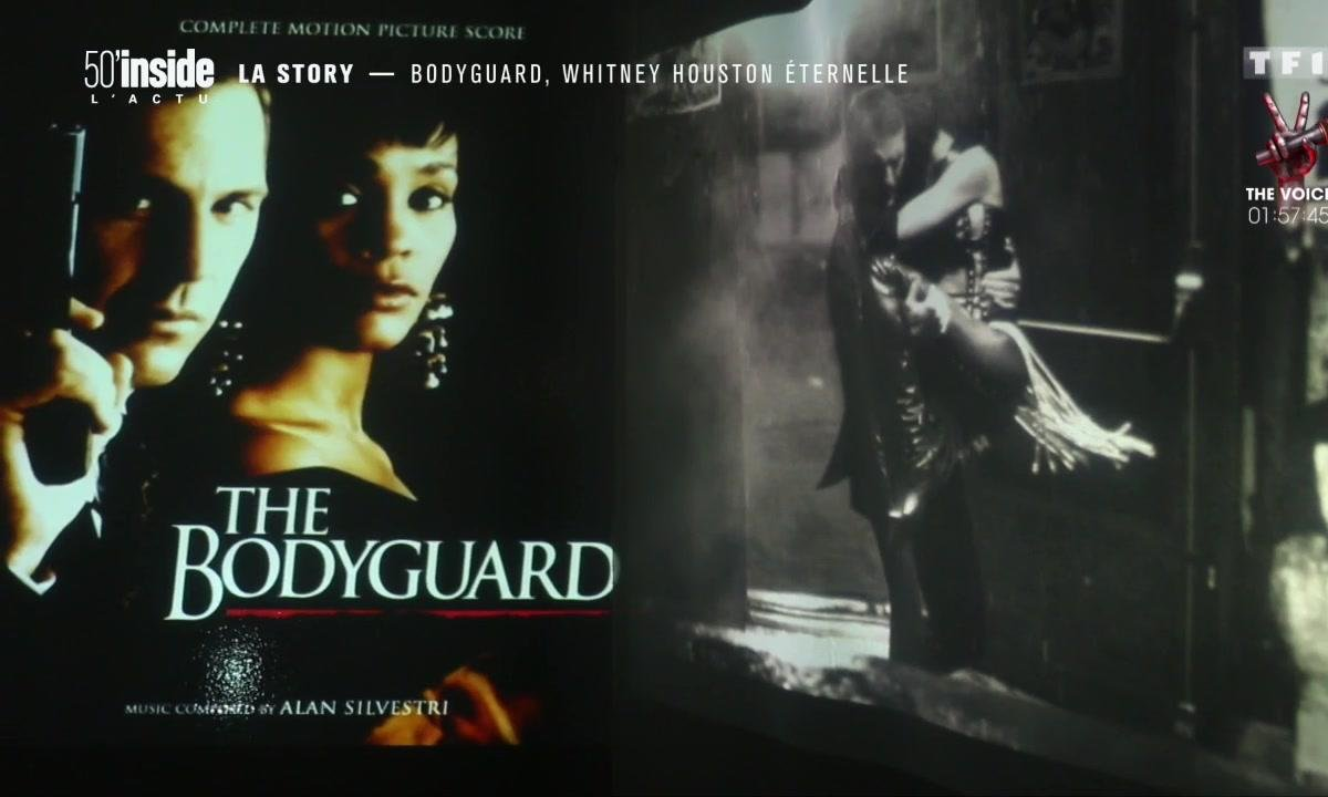 Découvrez les coulisses du tournage de Bodyguard avec Whitney Houston