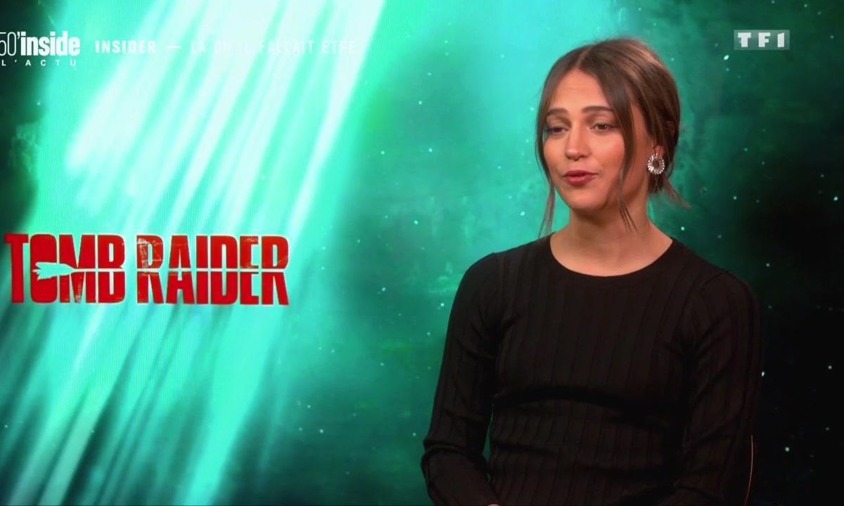 Découvrez la transformation physique d'Alicia Vikander dans Tomb Raider