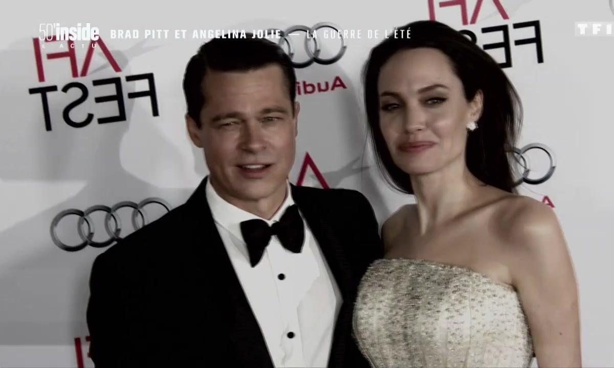Divorce d'Angelina Jolie et Brad Pitt : le bras de fer continue