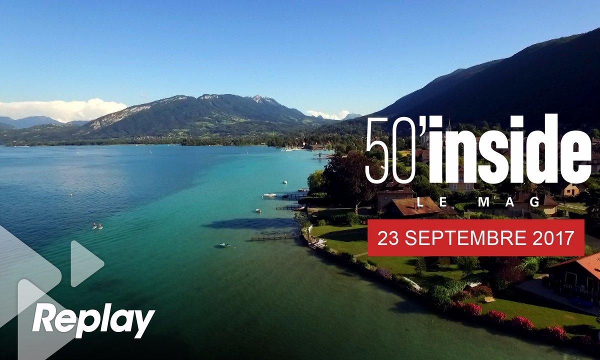 Le document d'Inside : plongez dans le lac d'Annecy