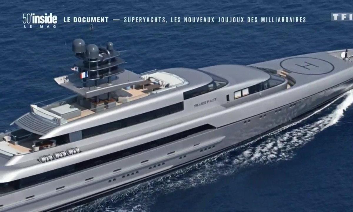 Le document - Les super-yachts, des palaces flottants