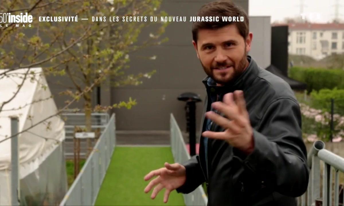 EXCLU - Christophe Beaugrand vous révèle les secrets du nouveau Jurassic World