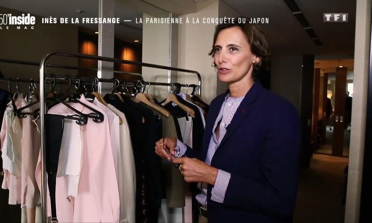 Inès de la Fressange, la Parisienne à la conquête du Japon