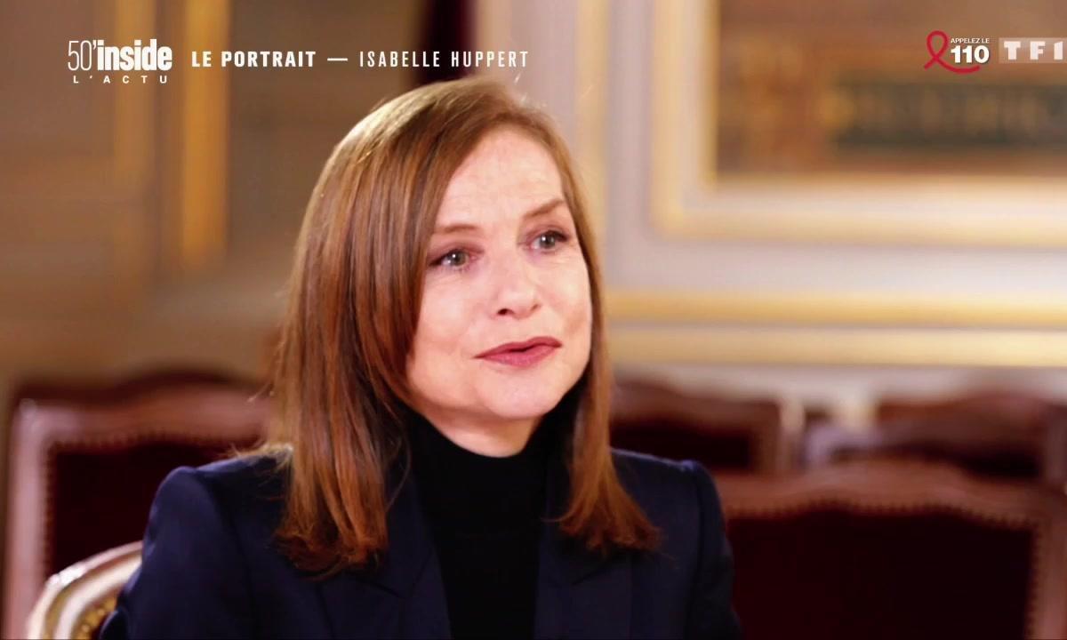 Isabelle Huppert se confie sur 5 dates qui ont marqué sa vie