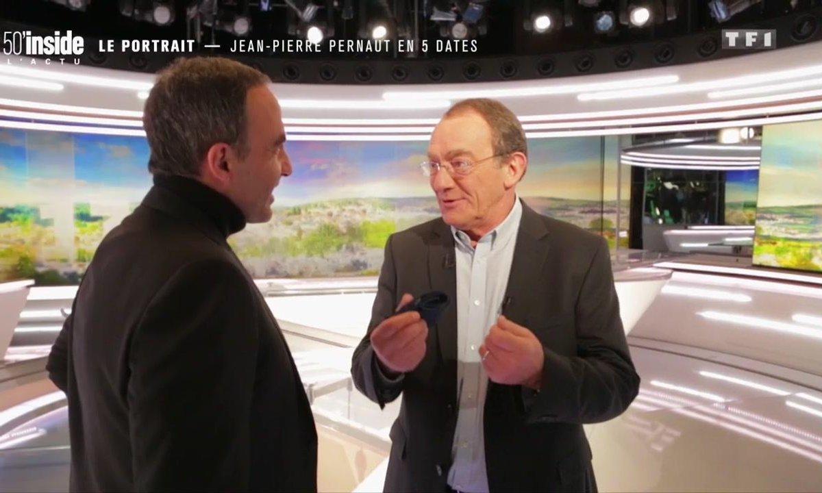 Jean-Pierre Pernaut explique pourquoi il présente le JT de TF1 sans prompteur