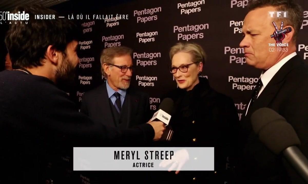 Pentagon Papers : Meryl Streep et Tom Hanks au cœur d'un scandale d'Etat