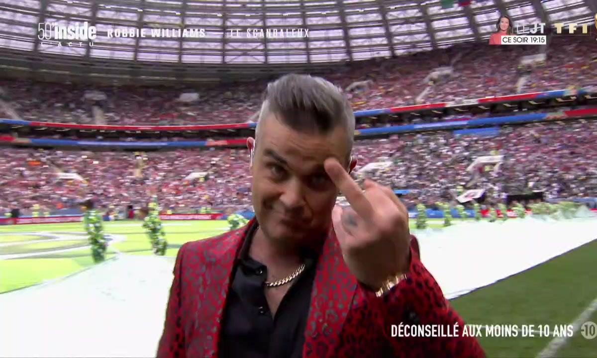 Robbie Williams, le bad boy de la pop