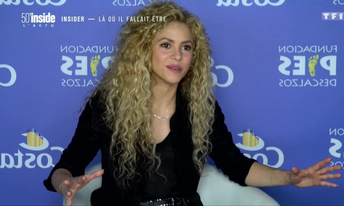 Découvrez le nouveau projet humanitaire de Shakira