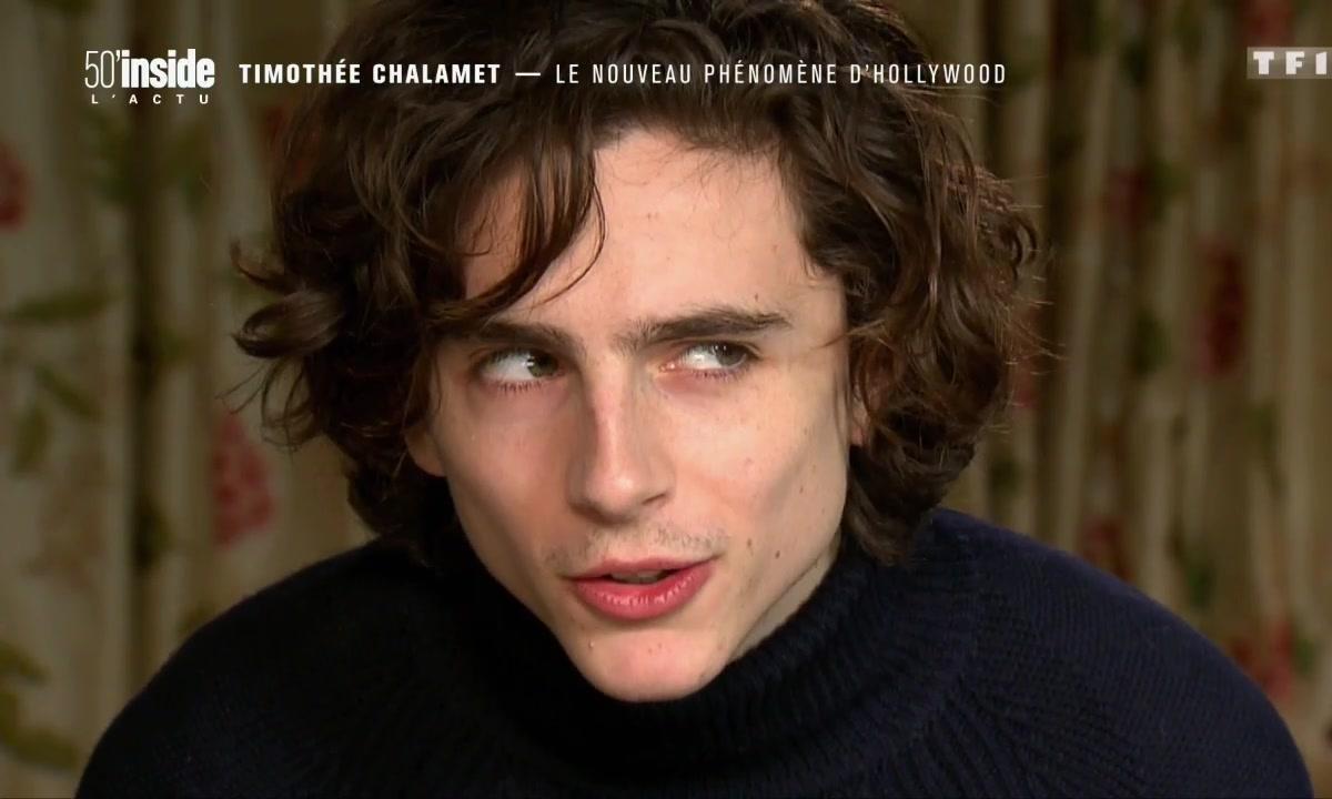 Timothée Chalamet, le phénomène du moment à Hollywood