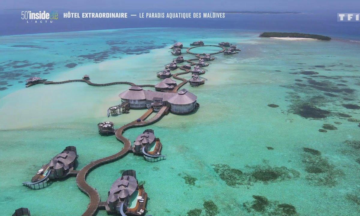 Hôtel extraordinaire : le paradis aquatique des Maldives