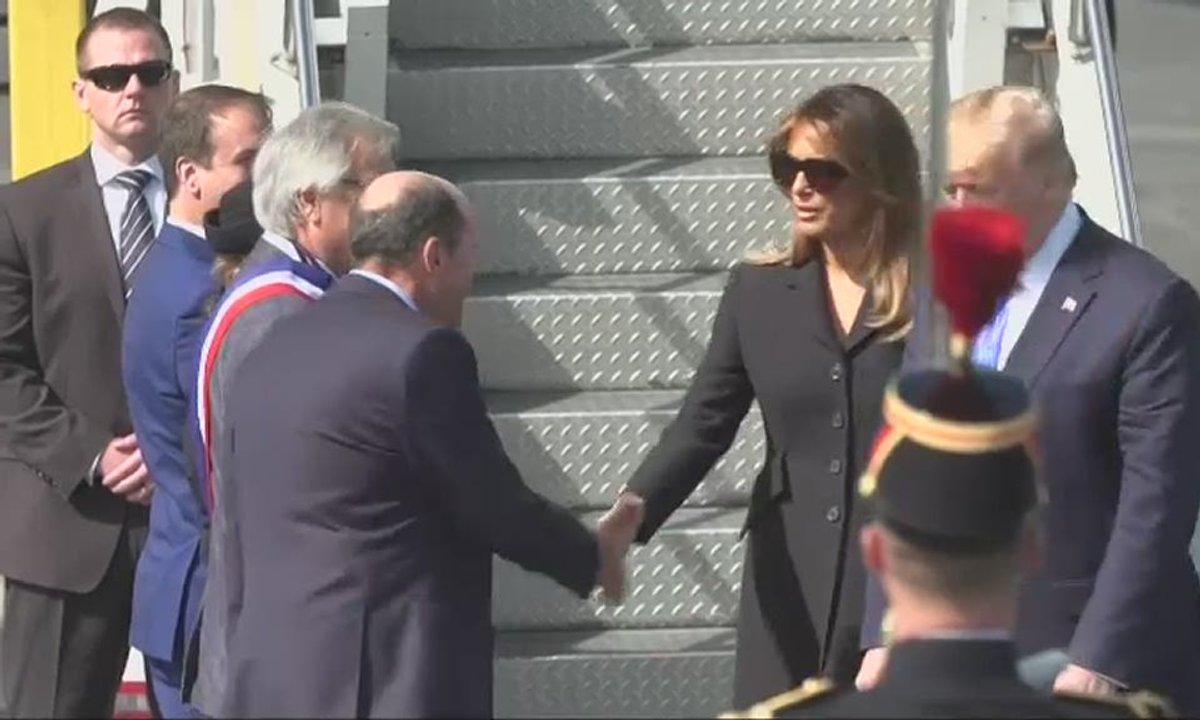 75 ans du Débarquement : l'arrivée à Caen de Donald Trump