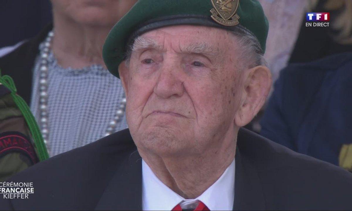 75e anniversaire du Débarquement : Emmanuel Macron rend hommage au commando Kieffer