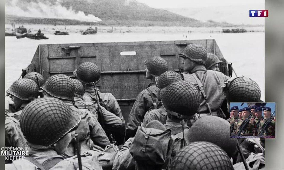 """75e anniversaire du débarquement : """"Le panneau du navire s'est aplati, et j'ai vu la France"""