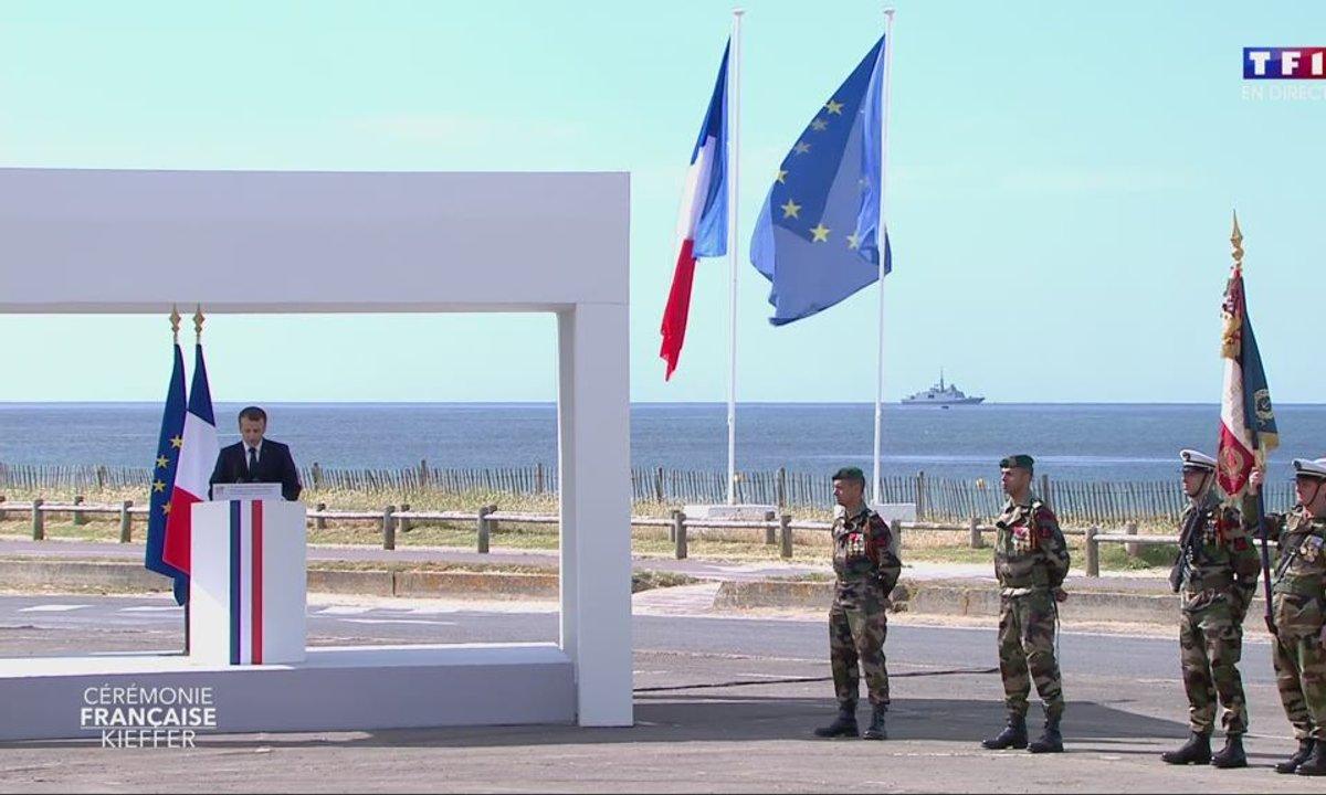 75e anniversaire du Débarquement : revoir l'hommage d'Emmanuel Macron
