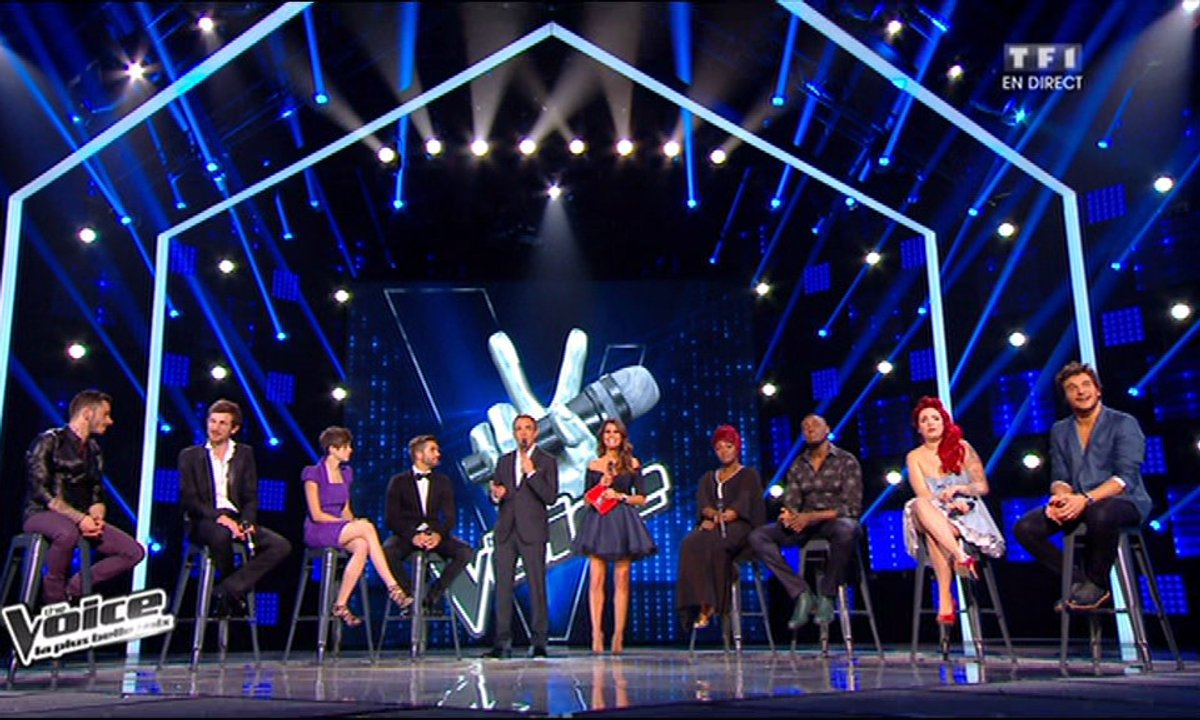 Les 8 talents de The Voice Tour chantent « A nos actes manqués » (J-J Goldman) (Saison 3)