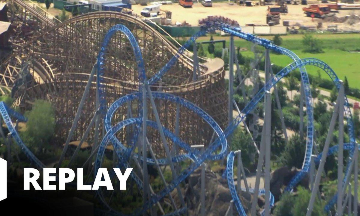 90' Enquêtes - Guerre des parcs d'attraction : la course aux sensations