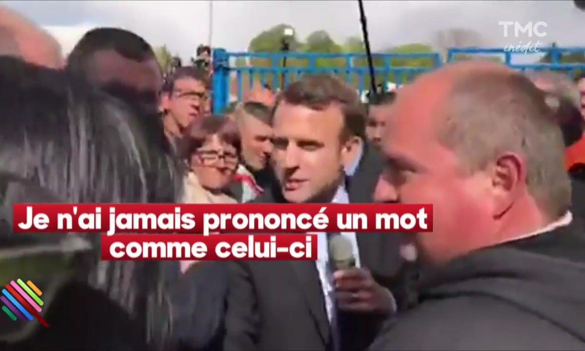 """A Amiens :  Macron """"les mains sales"""" victime du Gorafi"""