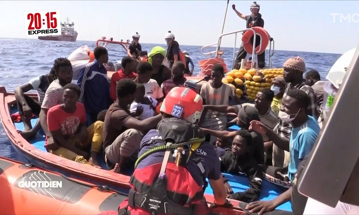 À bord de l'Ocean Viking : SOS Méditerranée sauve 25 personnes dont 3 enfants