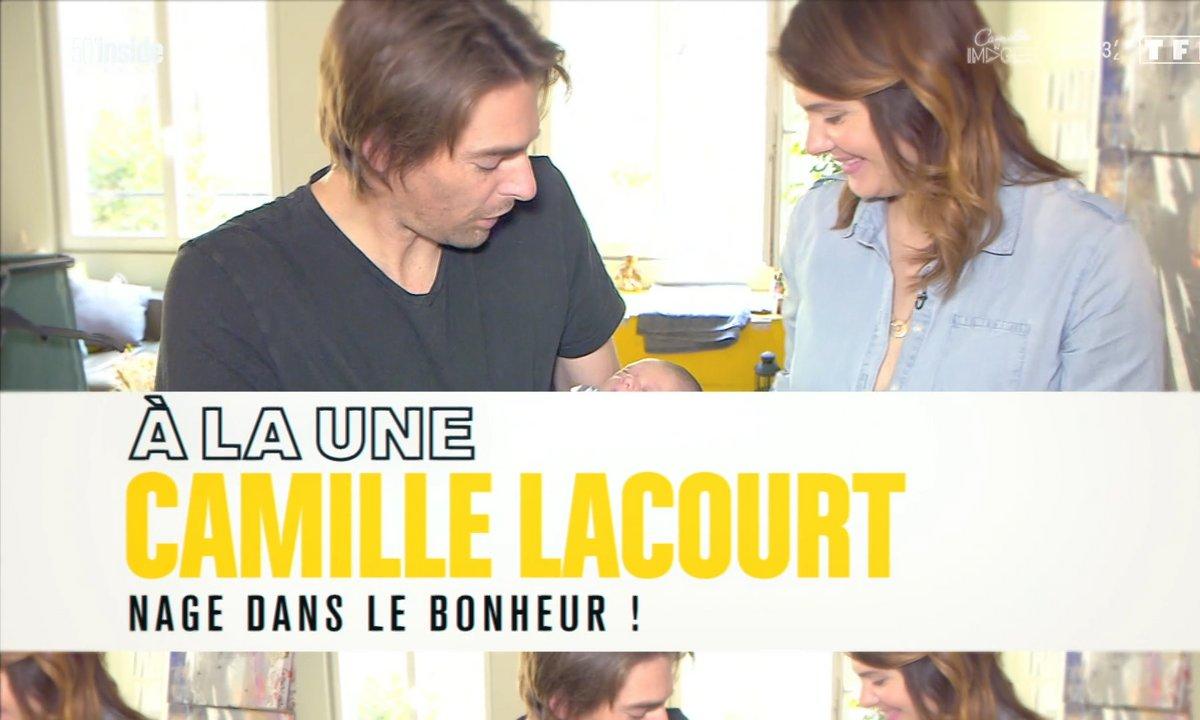 À la Une : Camille Lacourt, ses premiers jours de papa