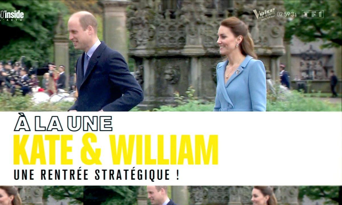 À la Une : la rentrée très stratégique de Kate et William