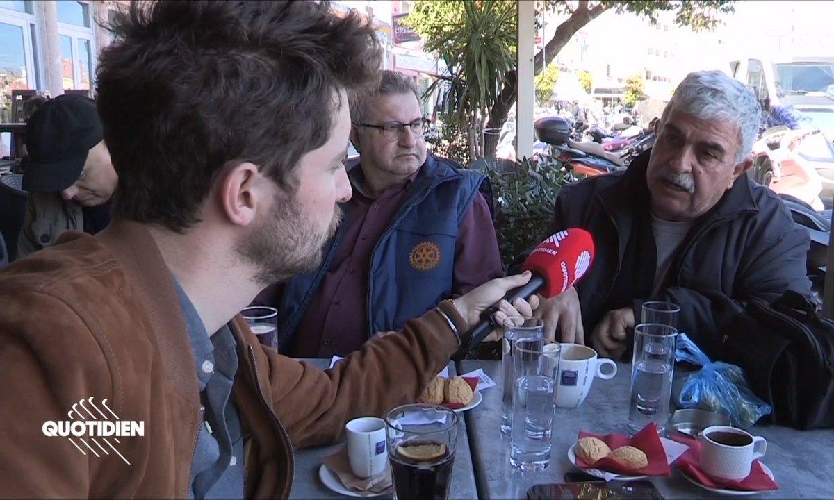 A Lesbos, entre menaces et attaques, les ONG jettent l'éponge