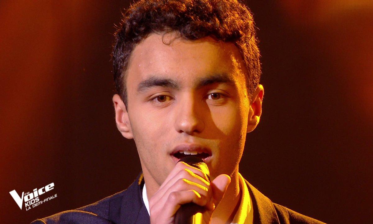 "The Voice Kids 2020 - Demi-Finale : Abdellah chante ""Lettre à France"" de Michel Polnareff (Team Kendji)"