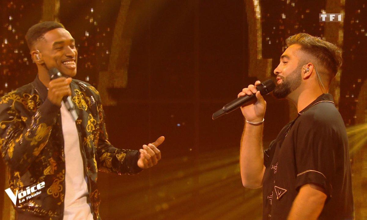 """THE VOICE 2020 – Abi et Kendji Girac chantent en duo """"Les yeux de la mama"""" (Finale)"""