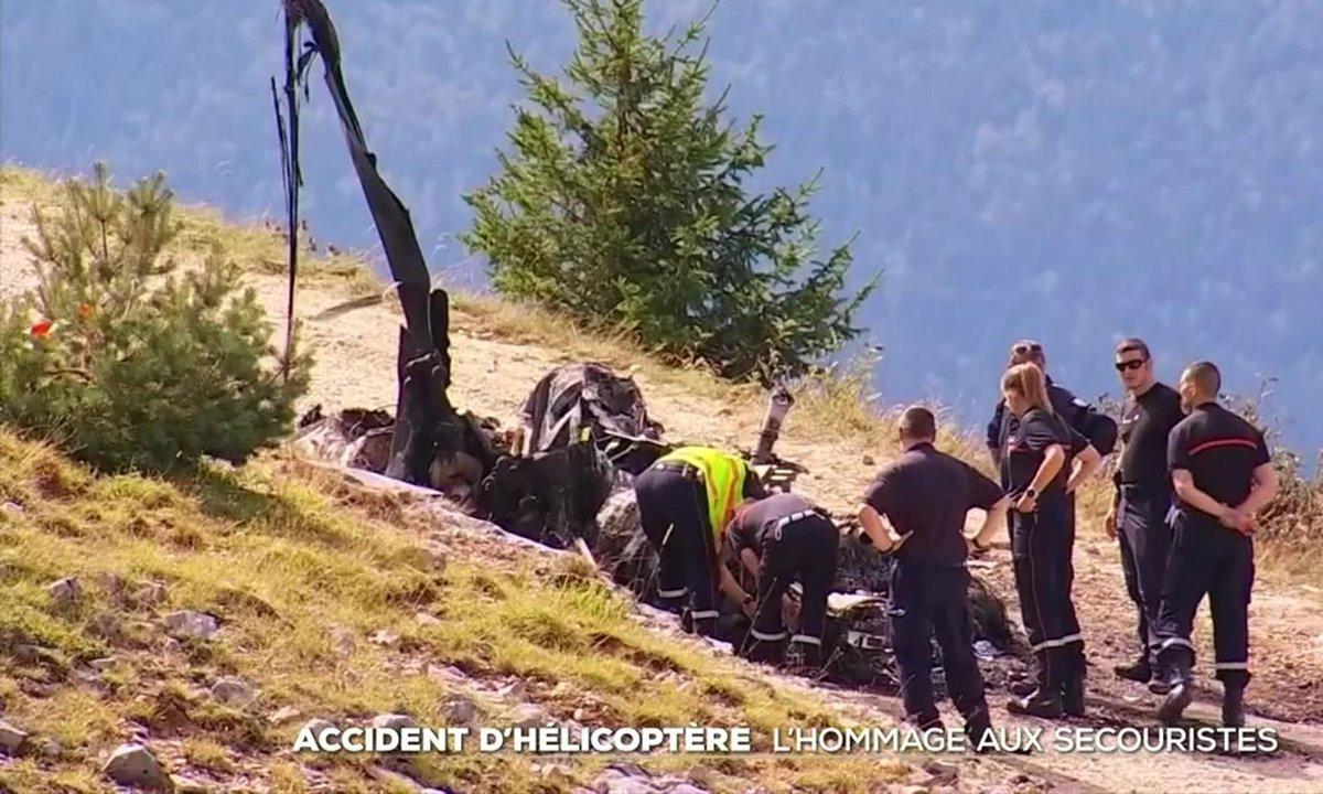 Accident d'hélicoptère : Villard-de-Lans sous le choc