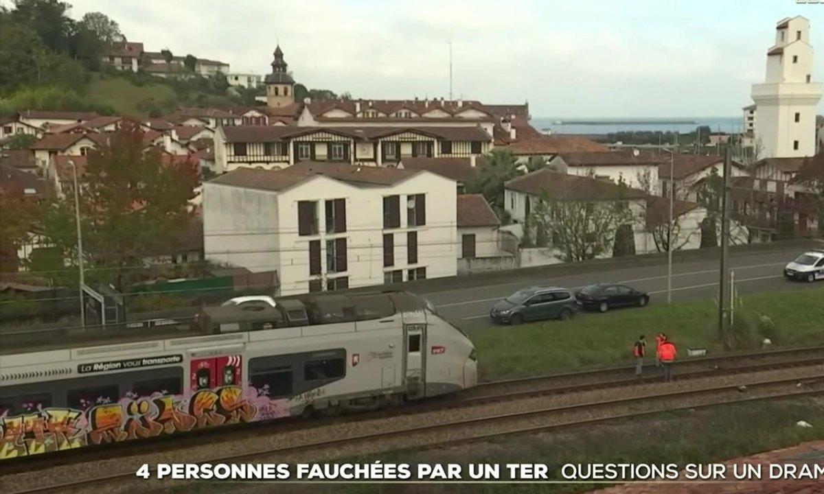 Accident mortel de TER près de Saint-Jean-de-Luz : ce qu'il s'est passé