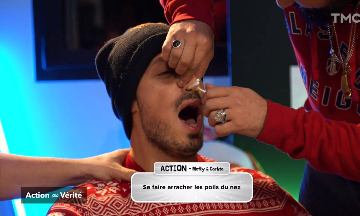 Action : Mcfly et Carlito se font arracher les poils du nez