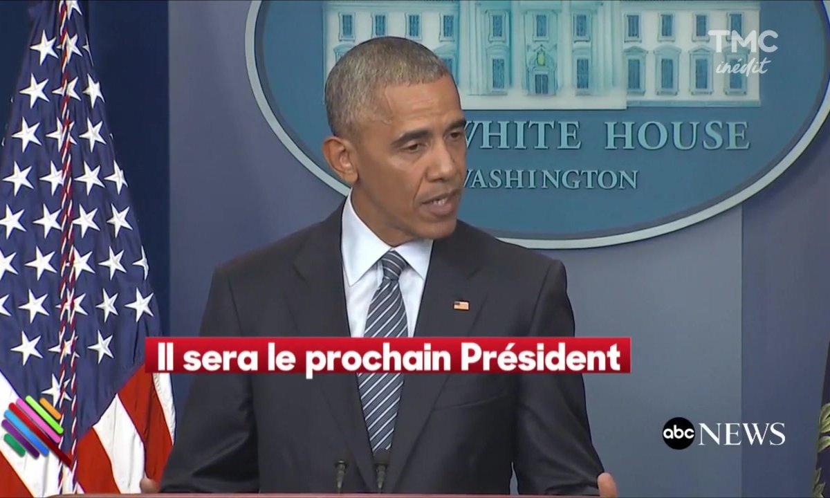 Les adieux à la presse d'Obama
