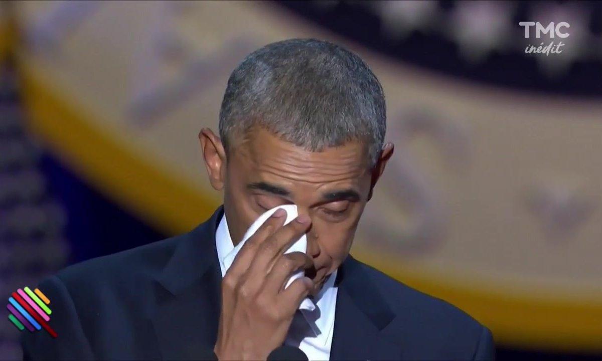 Les adieux émouvants de Barack Obama
