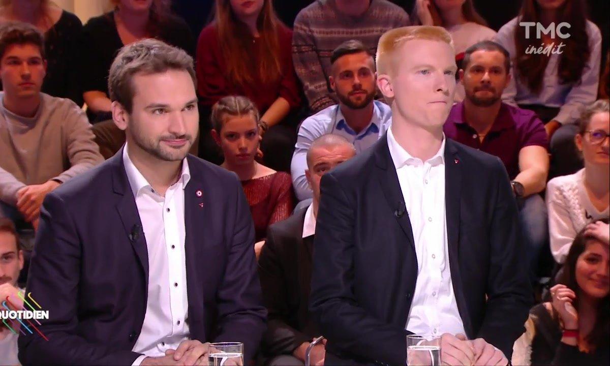 Invités : Adrien Quatennens et Ugo Bernalicis, stars montantes de France Insoumise