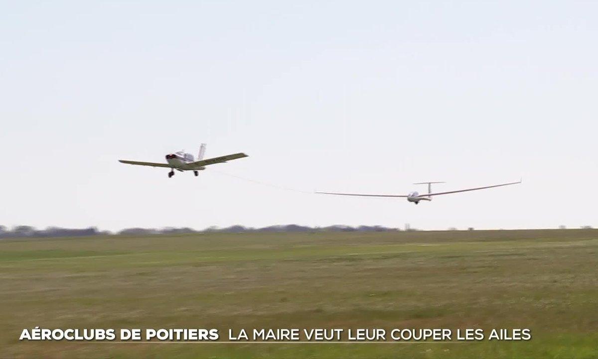 Aéroclubs de Poitiers : la maire veut leur couper les ailes