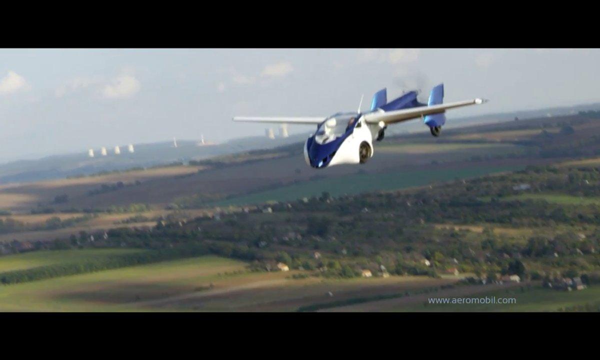 AeroMobil 3.0 : présentation de la future voiture volante en vidéo