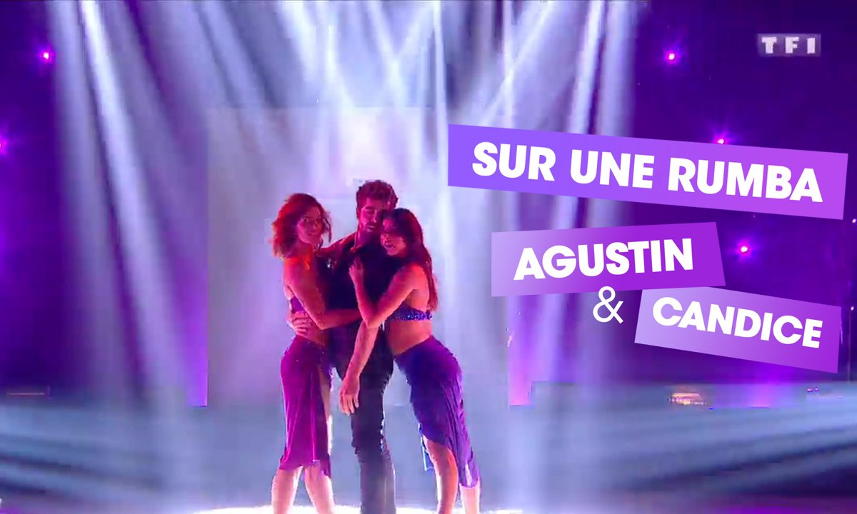 Sur une Rumba, Agustin Galiana et Candice Pascal (I Don't Wanna Live Forever)