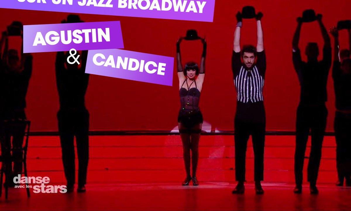 Sur un Jazz Broadway : Agustin Galiana et Candice Pascal (Chicago)
