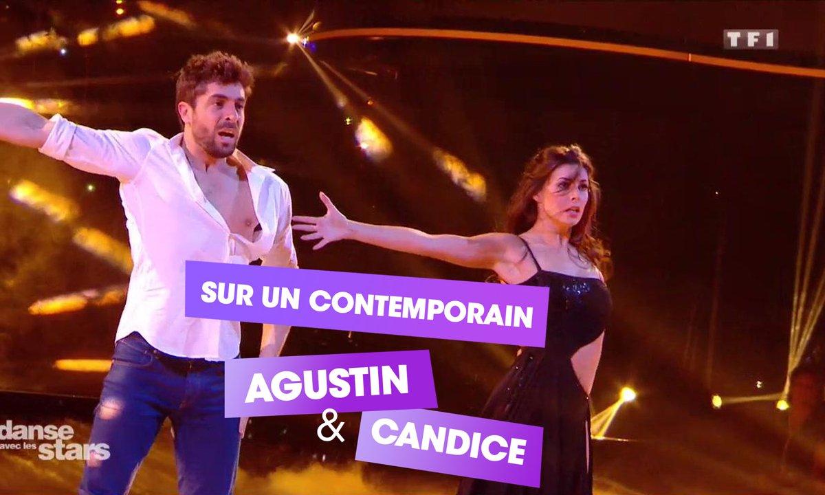 Sur un contemporain, Agustin Galiana et Candice Pascal (Il Est Où Le Bonheur)