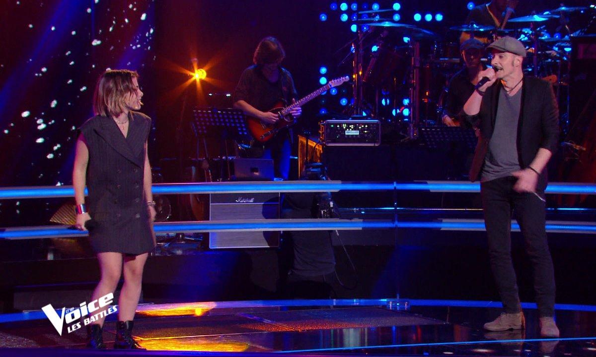 The Voice 2021 - Aimée VS Nico Sarro chantent « Besoin de personne » de Véronique Sanson