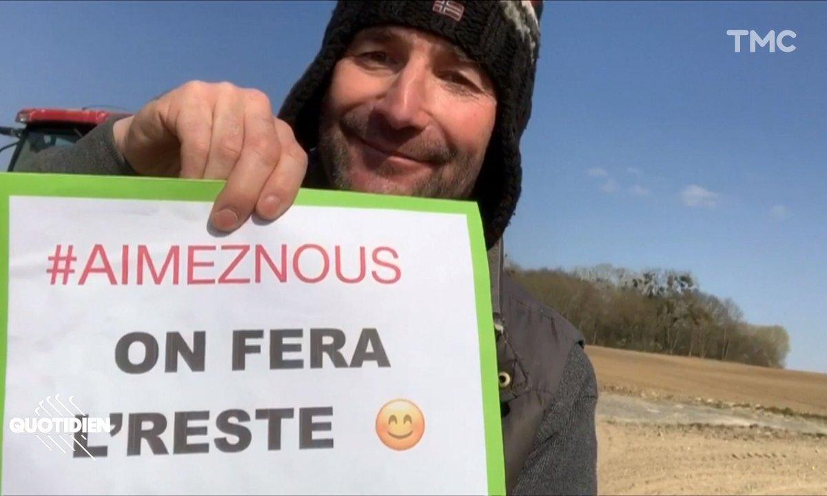 """""""Aimez-nous, on fera le reste"""": les agriculteurs sur le pont"""